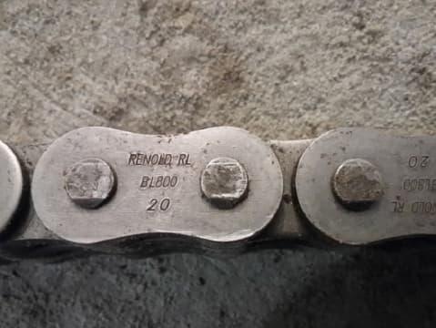 Задняя цепь каретки №283592001 (V50x100, V40x40)