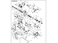 150-1444 Манометр давления воды на Ditch Witch JT1220